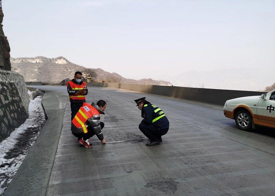盂�h�|公路管理段:疫情防控不放松