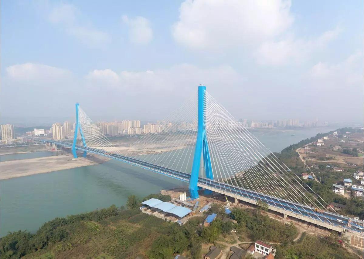 最新!南溪长江大桥完成最后一道检验,即将通车!