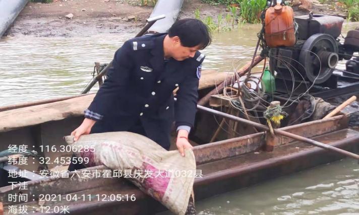 我县多部门联合开展淮河禁捕专项行动