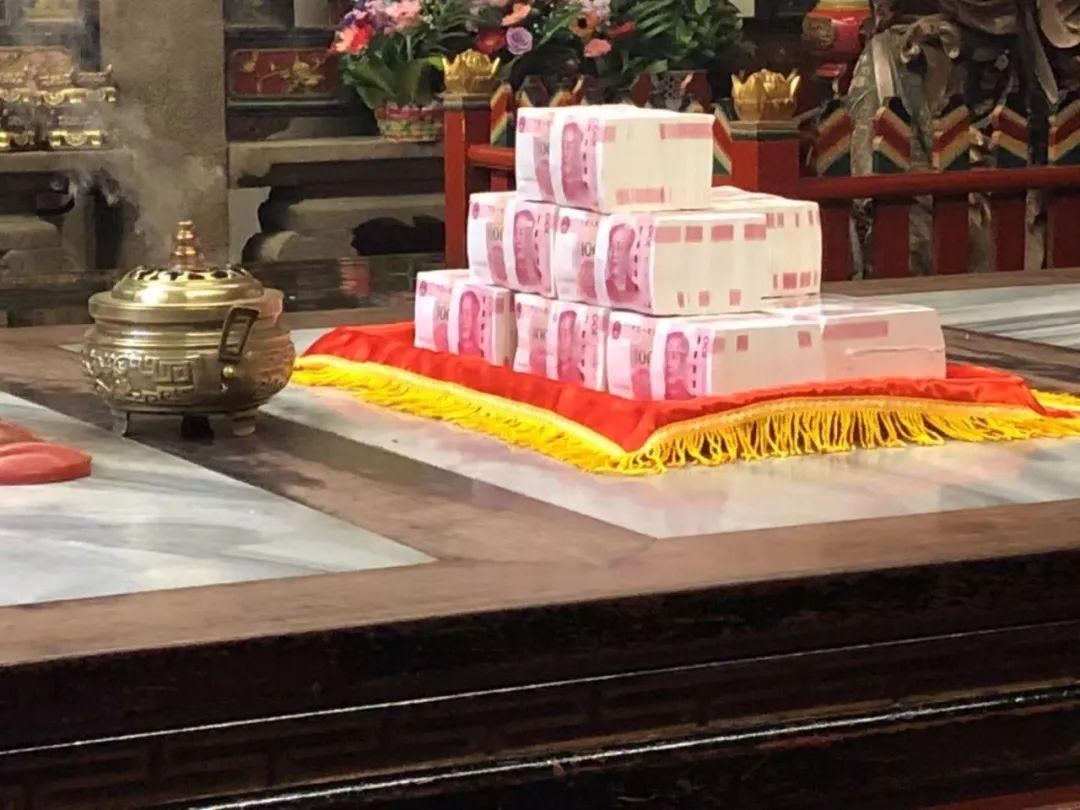 100万,新的一年这个莆田人又为湄洲妈祖祈福了!