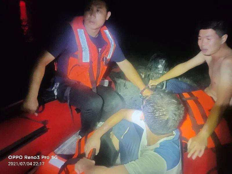 突发!黛溪湖有市民落水,邹平市9958应急救援队紧急出动!