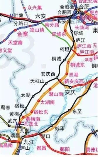 已经确定!金寨人都在讨论的这条铁路重新规划!途径金寨天堂寨!