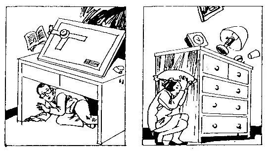 地震来了怎么办?一组漫画告诉你!
