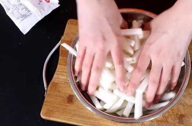 �}卜干最好吃的制作方法,不用晾��,入口爽脆