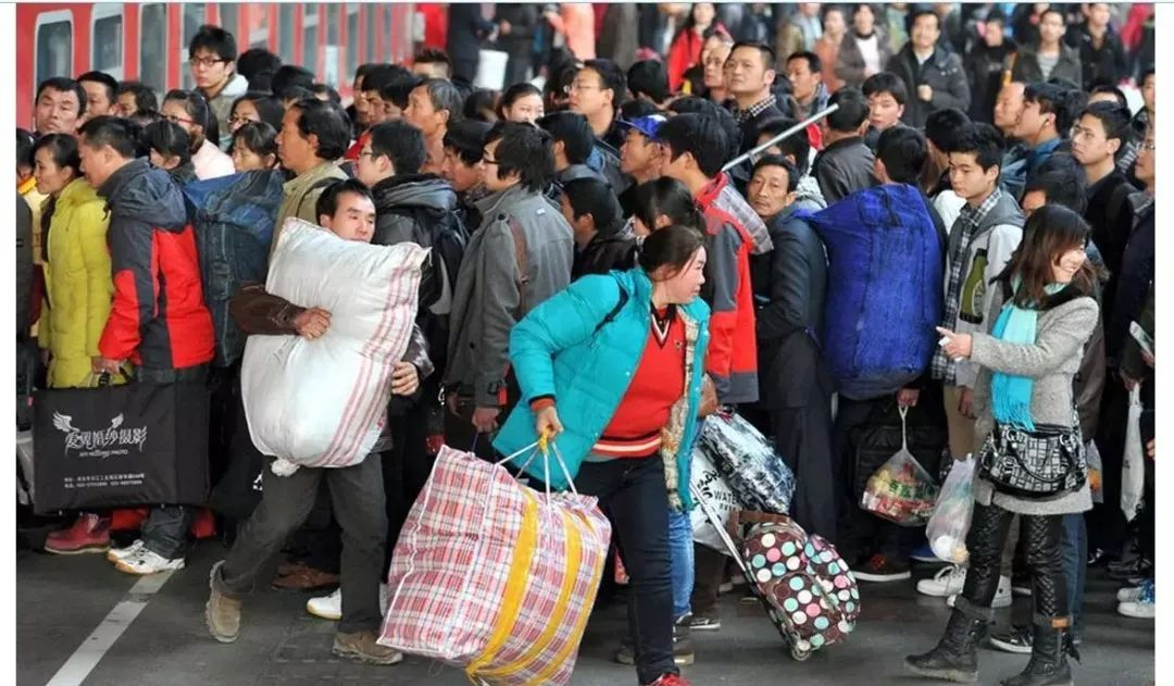 准备回家过年的澳门太阳城官网人看看春运购票时间