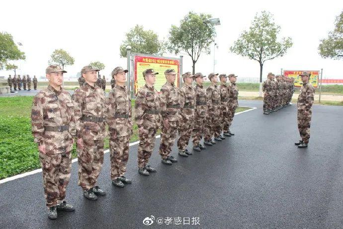 ?大悟组织开展预定新兵役前教育训练