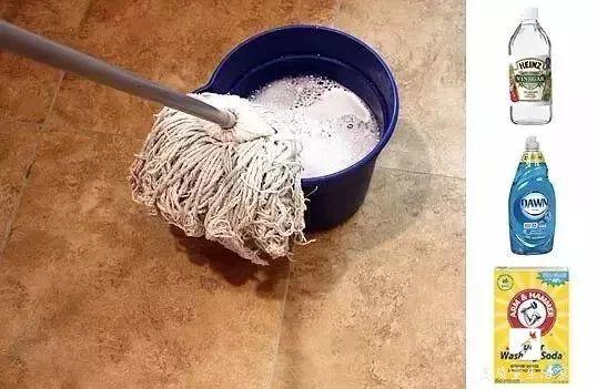 每天拖地还是很脏,这么做地板干净无灰尘