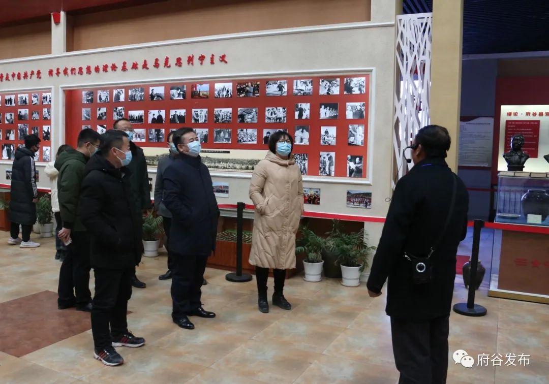 市委宣传部常务副部长韩金华来府调研文化产业发展工作