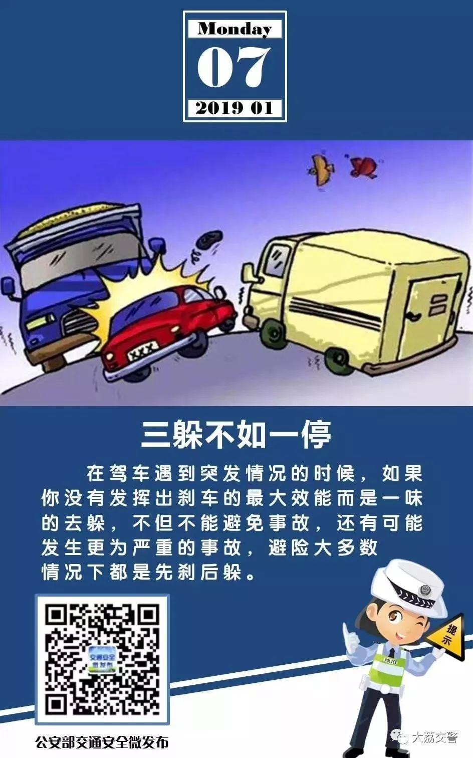交通安全提示每日一图