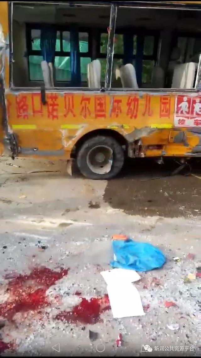 突发!安徽六安一幼儿园校车发生重大车祸,多名幼童受伤!