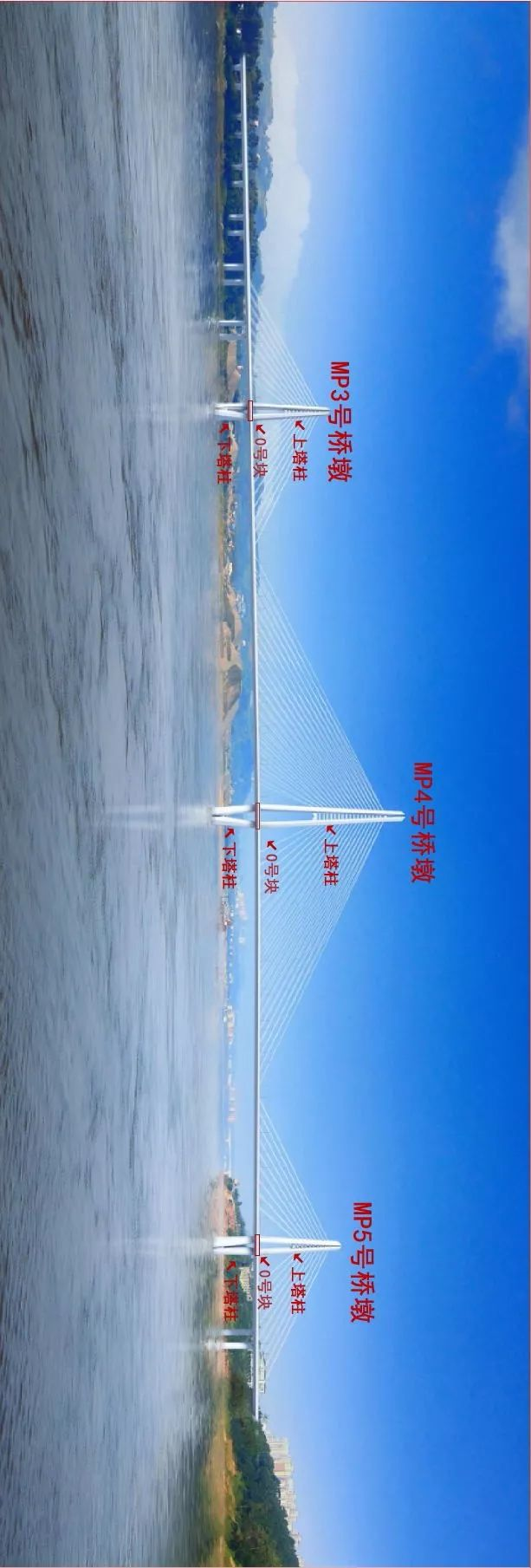 �目推�M �o州�L江六�蛞淹瓿上滤�柱施工