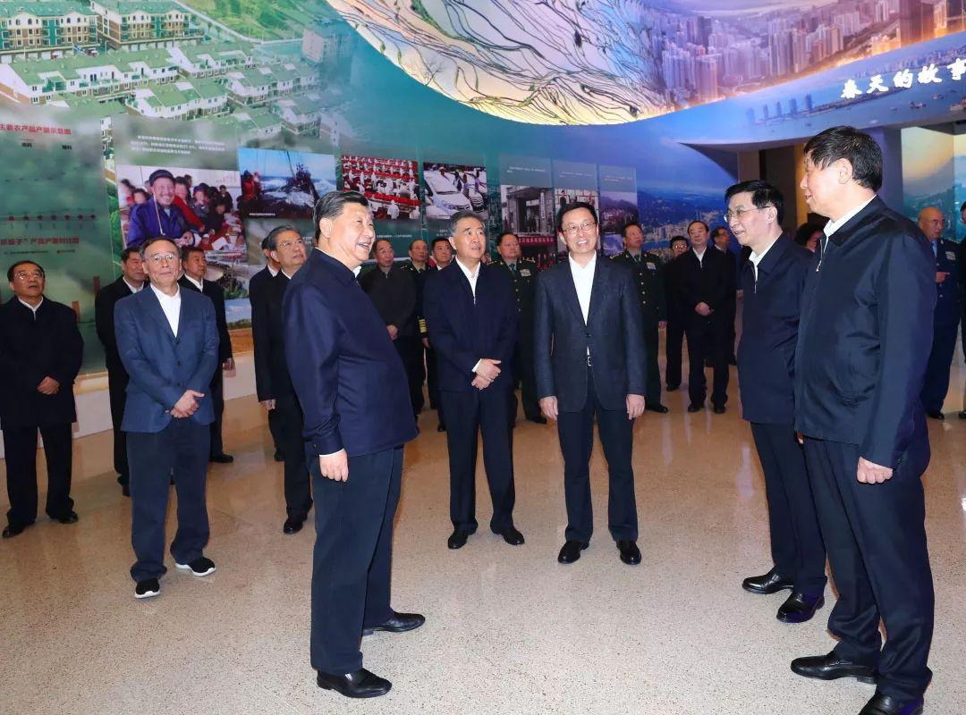 习近平等党和国家领导人参观了这个重磅展览