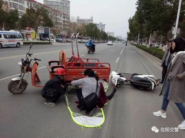 【典型案例?固始篇】路人突遇交通事故