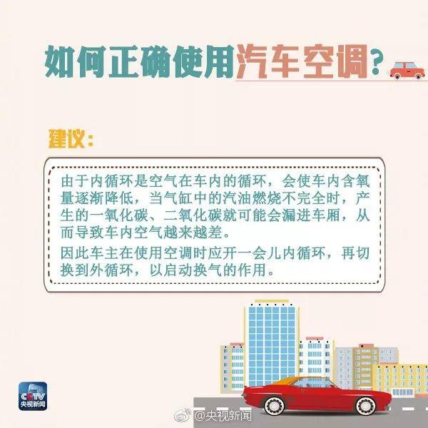 汽车空调怎么用效果最好?做错后果很严重!
