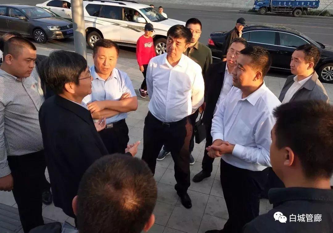 【城事】吉林省住房和城乡建设厅厅长孙众志、副厅长刘萍等领导一行莅临我市视察地下管廊项目