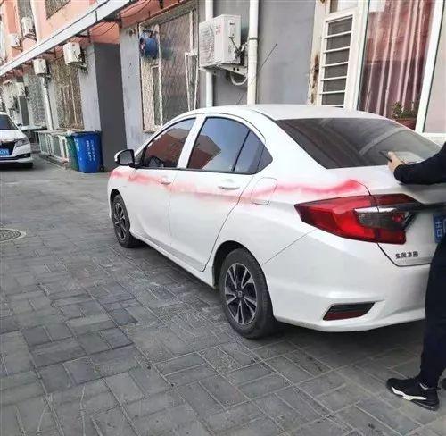 【城事】曝光!澳门金沙城中心一位业主把车停在小区,却造人恶意破坏,警方现已锁定嫌疑人