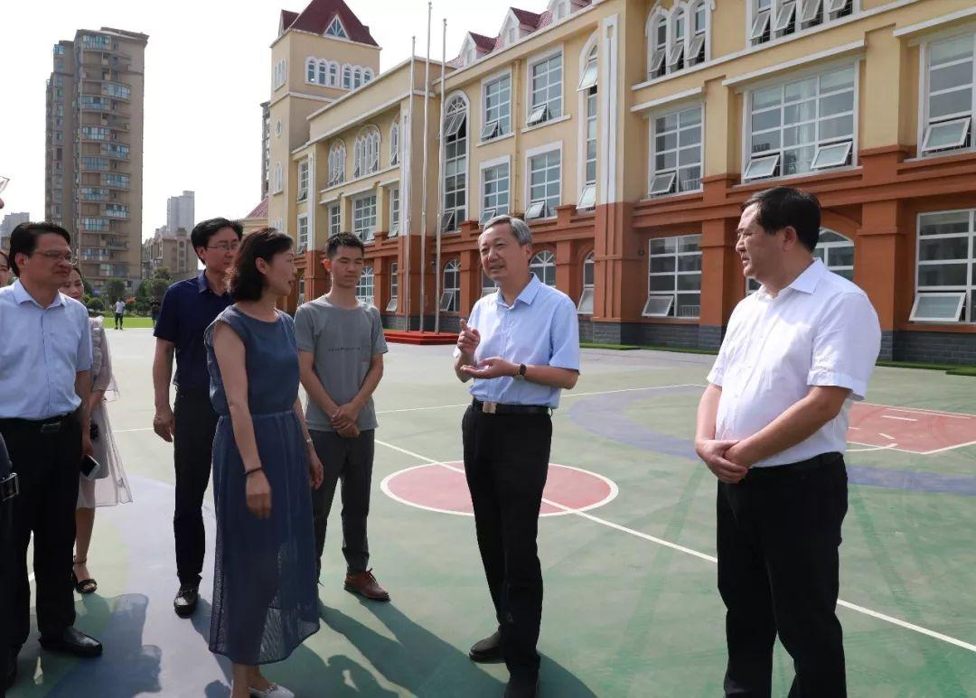 尚朝阳强调:加快推进学校建设,办人民满意的教育......