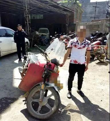 泸州一男子骑车撞人逃逸,警方4小时破案!