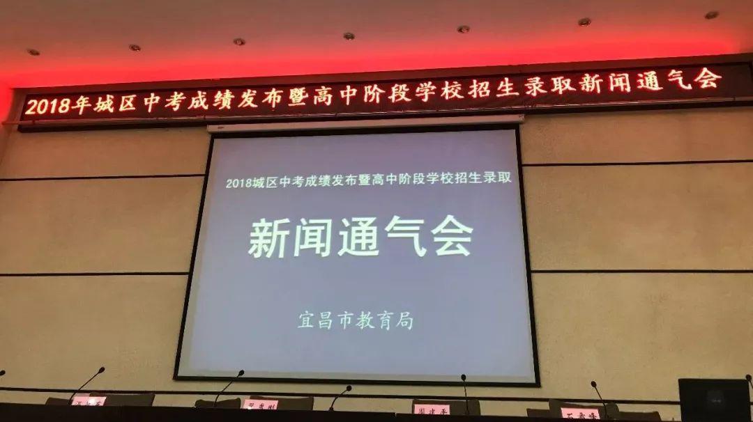 【重磅】宜昌城区普通高中录取最低控制线划定!还有一分一段表…