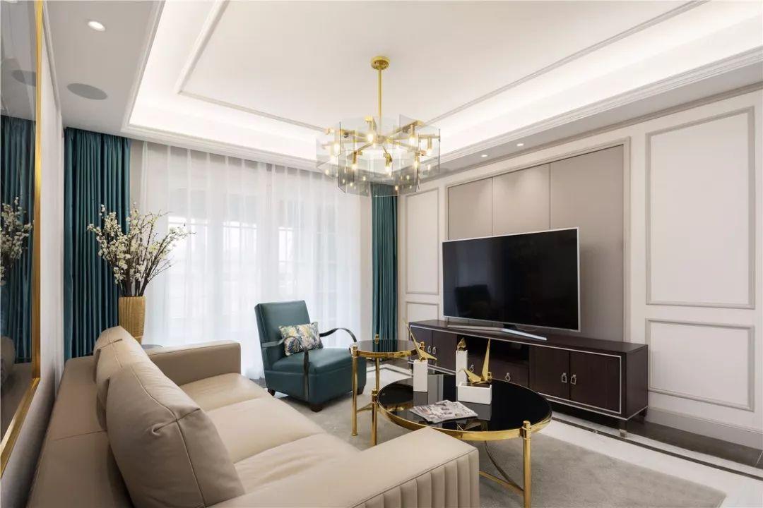 终于买下新房,110�O装修花了18W,好中意的美式风!