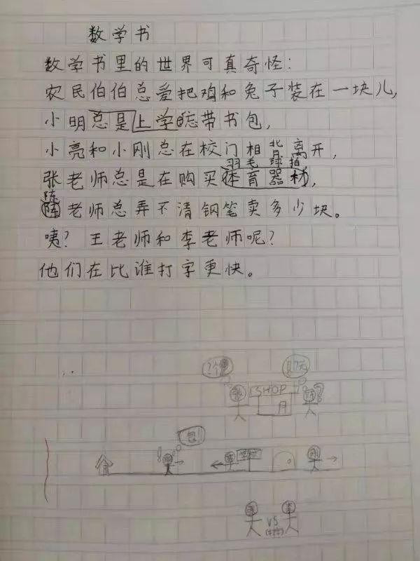 小学生写了一首诗,发出灵魂的拷问!太可爱啦哈哈哈