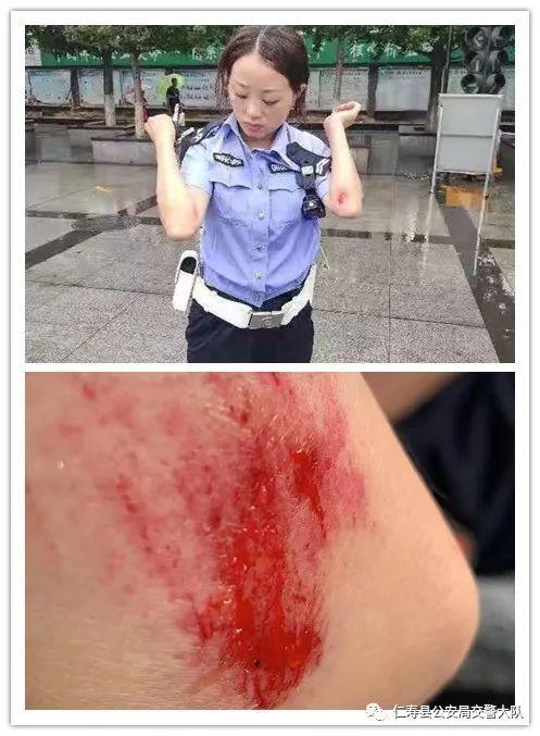 仁�垡慌�三��主暴力抗法!被依法被行政拘留10日!