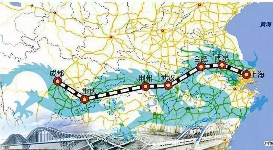 重磅!沿江高铁武汉-荆门-宜昌段或明年启动-建成后3小时可抵上海、成都!