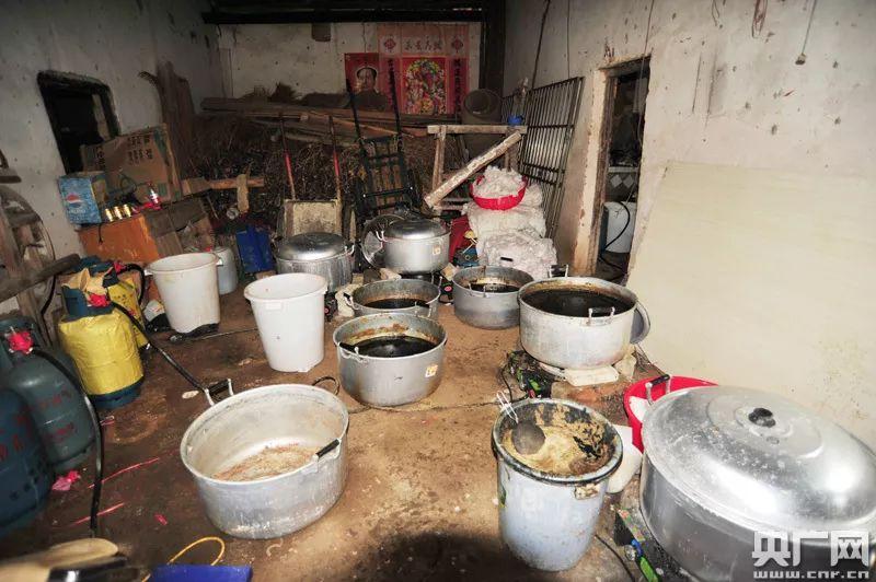湖北一特大制毒窝点被捣毁,缴获毒品600公斤价值超1.2亿!