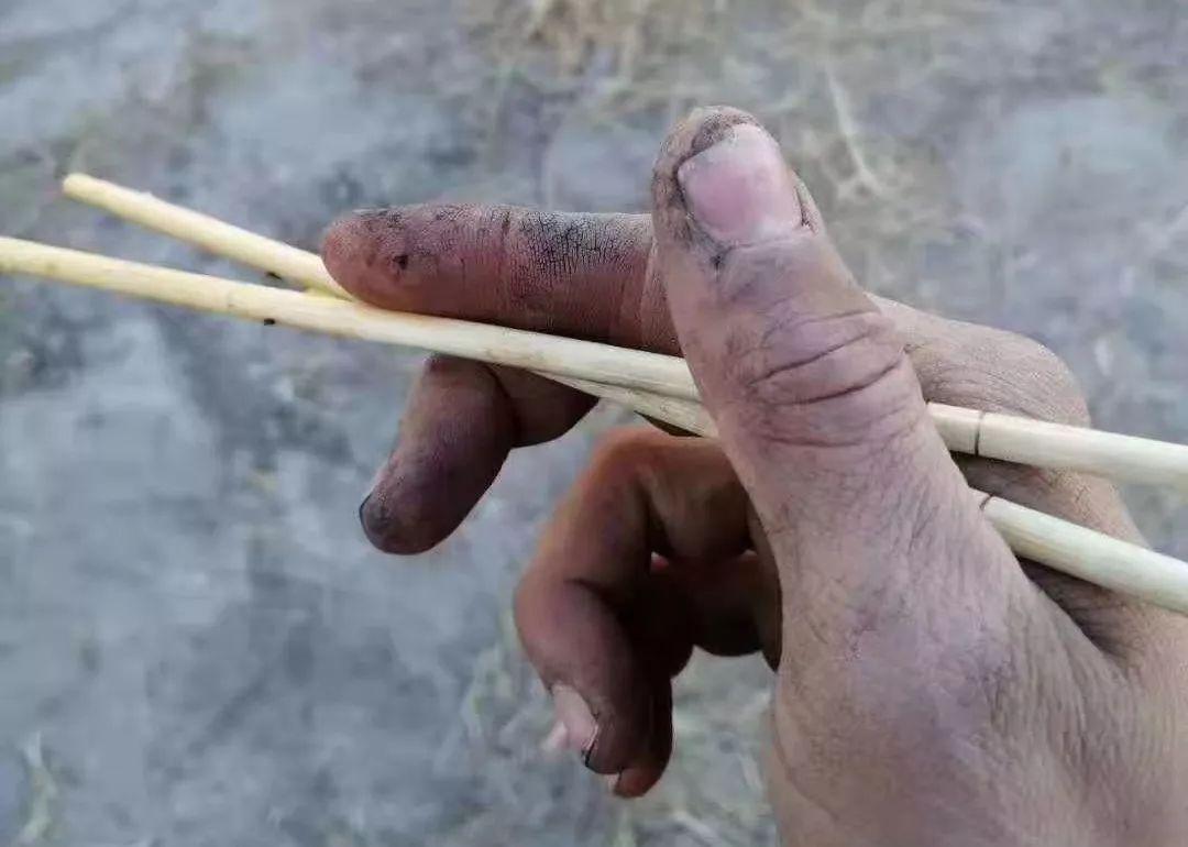 你把钢枪握得那么紧,却握不住一双筷子……
