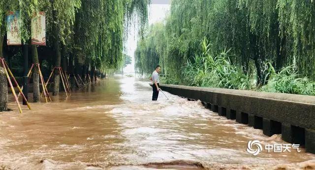 �L江�o州段迎今年�碜畲蠛榉澹�洪峰水位11.33米