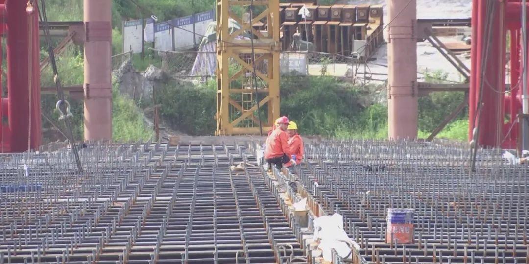 泸州合江车辋大桥格子梁合龙,主体工程已完工,预计年底通车
