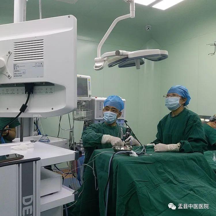 我院耳鼻喉科成功为患者施行右侧上颌窦脓囊肿摘除术及右侧中下鼻甲部分切除术
