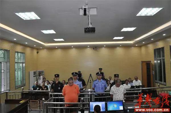 新宁一群人携枪支及砍刀打架,已被法院判决!
