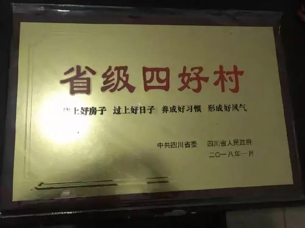"""2018年四川省级""""四好村""""公布,仁寿30个村上榜!"""