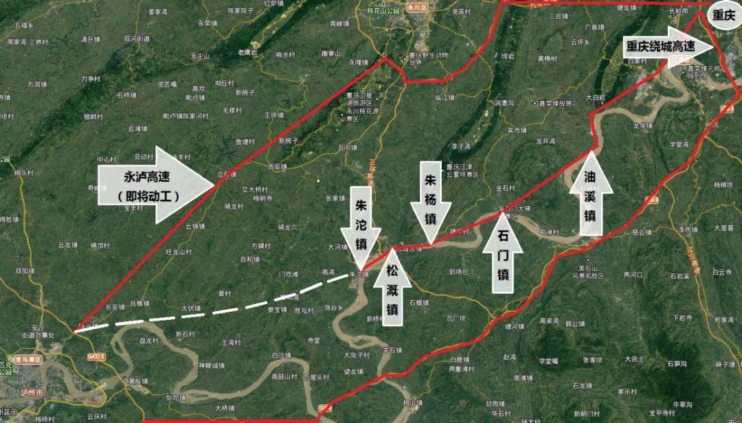 年底将动工丨泸州到重庆最短高速公路来了!全长67.7公里