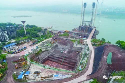 相当于9个篮球场!泸州长江二桥东锚碇基坑开挖完成