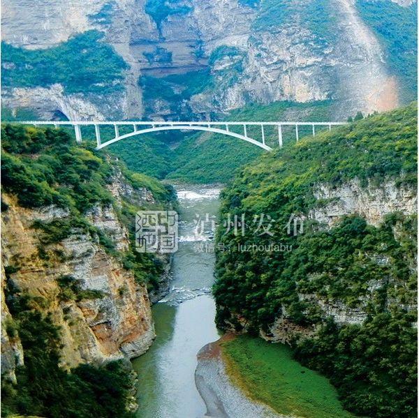 鸡鸣三省大桥丨两岸桥梁拱座、桥台的浇筑完毕