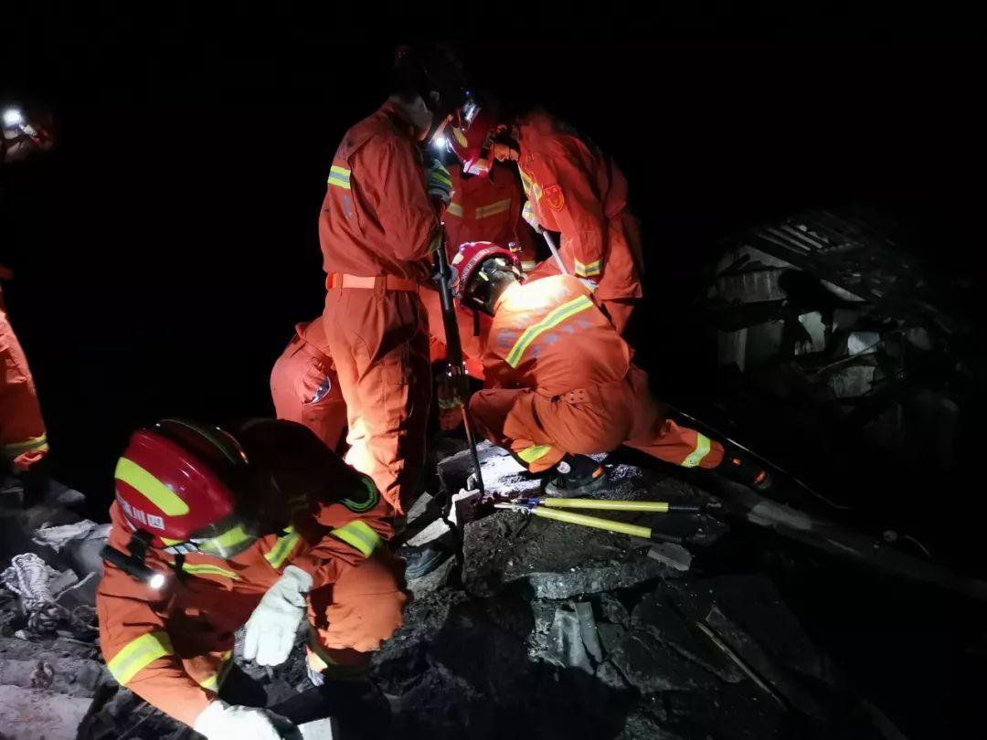 宜宾长宁地震,泸州力量彻夜救援!
