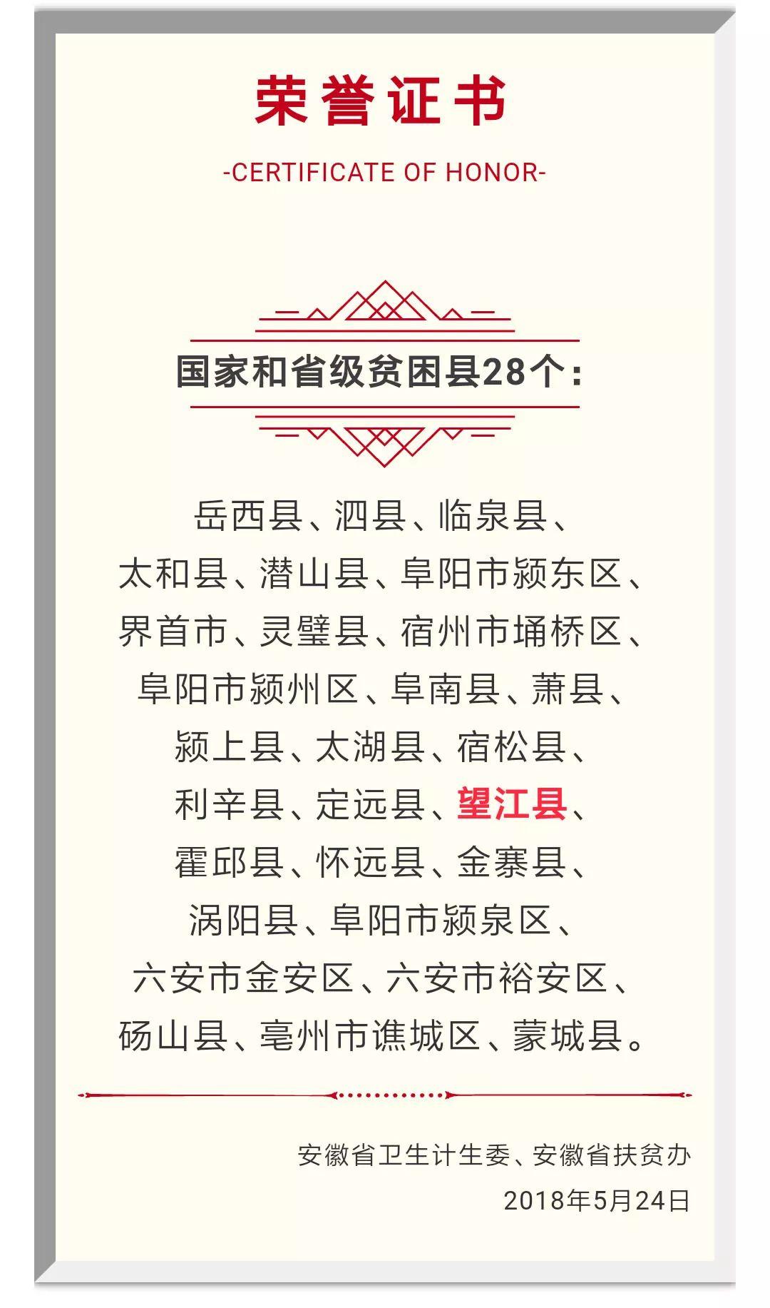 厉害了!望江被省里点名表扬!
