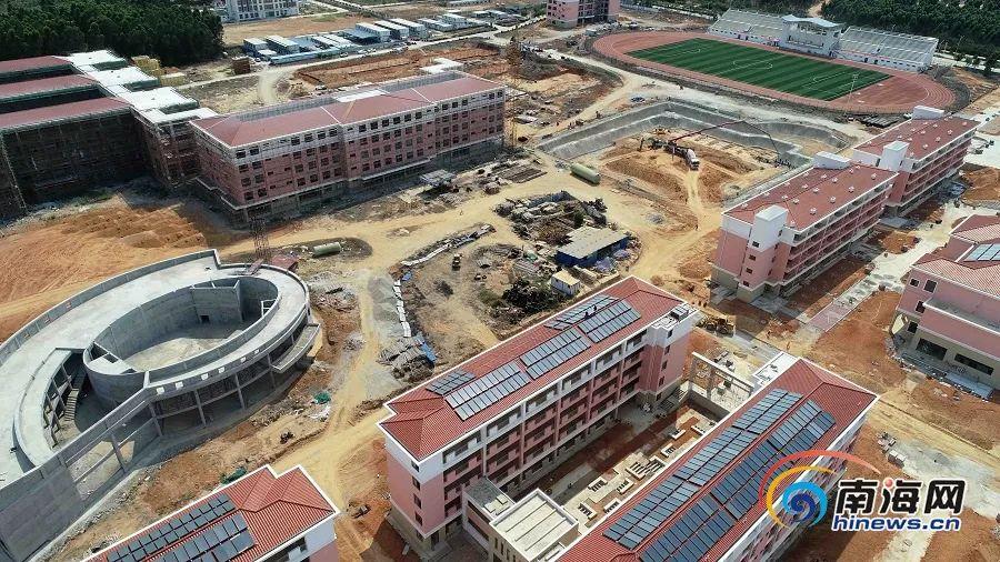 西南大学东方实验中学新貌初现