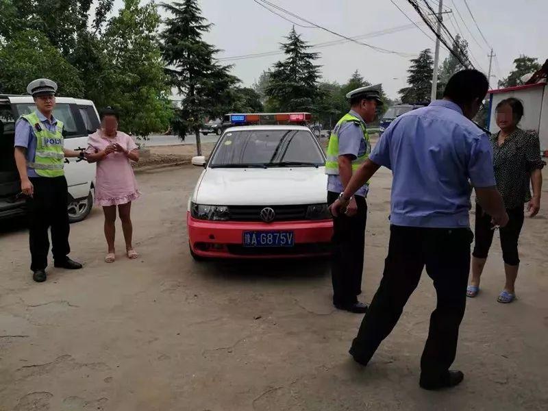 信阳高速交警巡逻途中遇出走女子