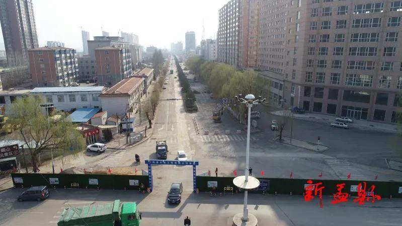盂�h金��西街:提� 改造惠及民生