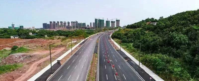 泸州长江六桥北连接线主线已完成!家住城西、城南、?#19978;?#30340;有福了!