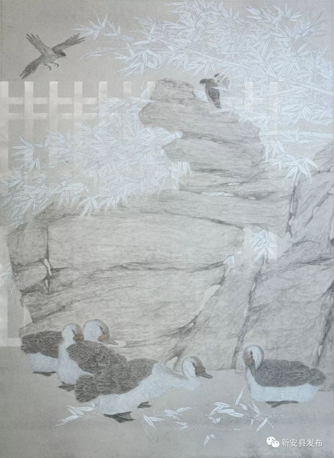 三次入选国家级美展!新安小伙用画笔勾勒诗与远方……