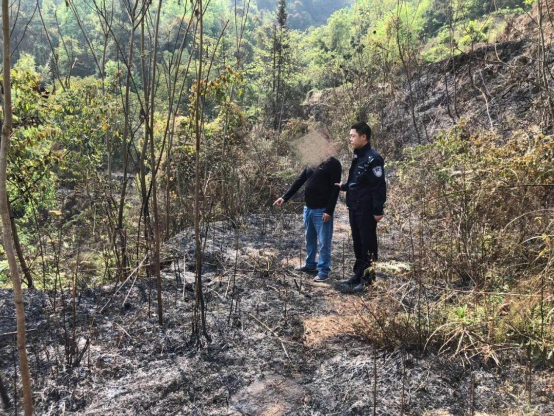泸州一村民焚烧杂草,引发过火面积100余平方米