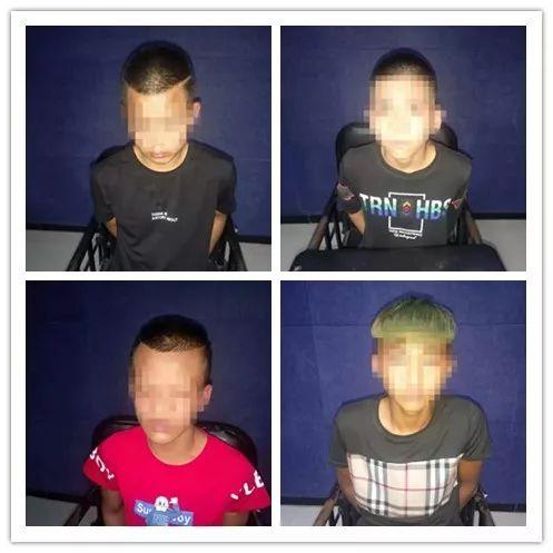 4少年入室盗窃50条烟2万现金,被警方抓获时还在K歌