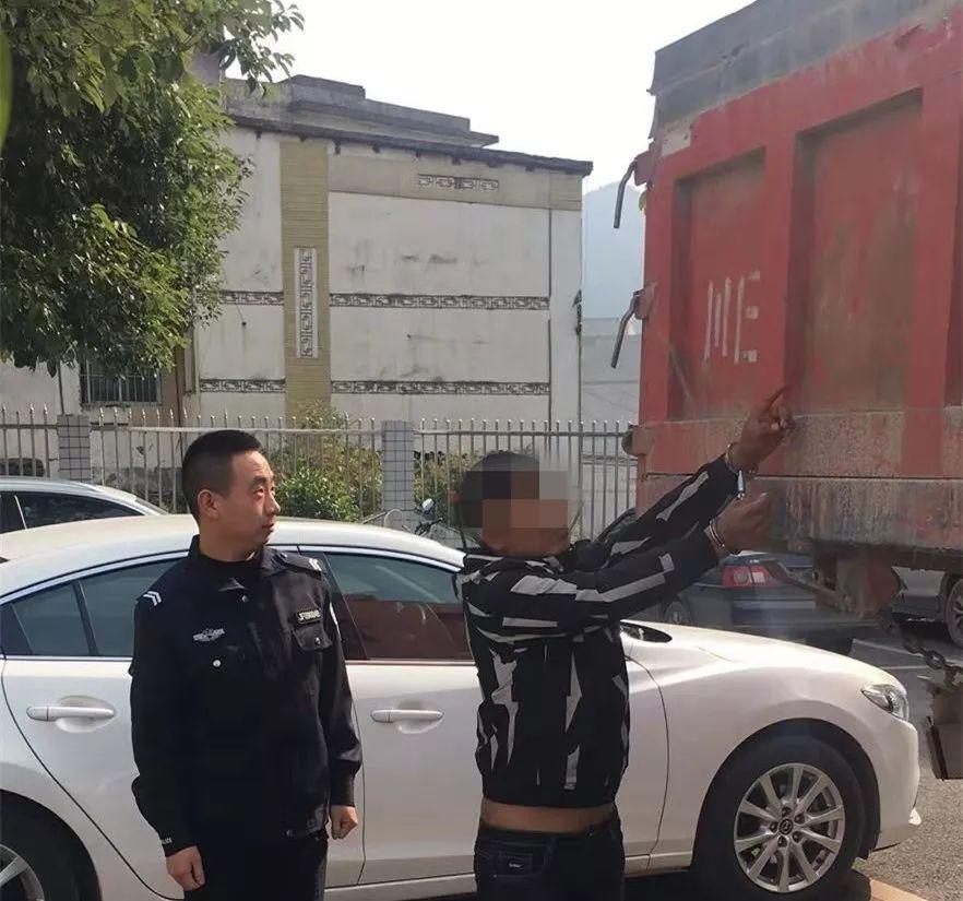 几吨重的大货车被盗,警方8小时抓获嫌疑男子