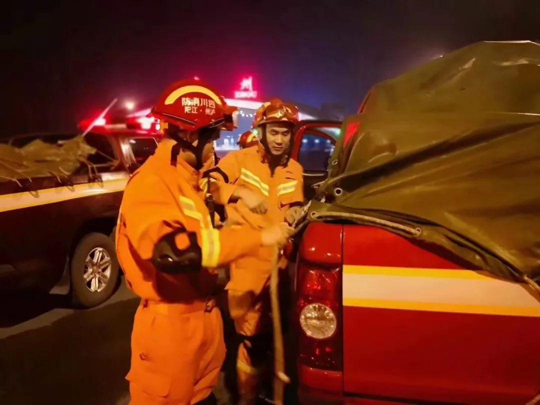 宜宾6.0级地震|泸州消防星夜驰援