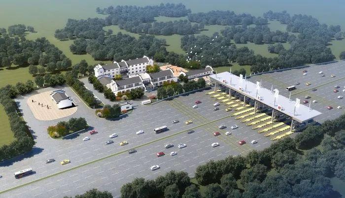G312淠河大桥新收费站规划设计方案批前公示