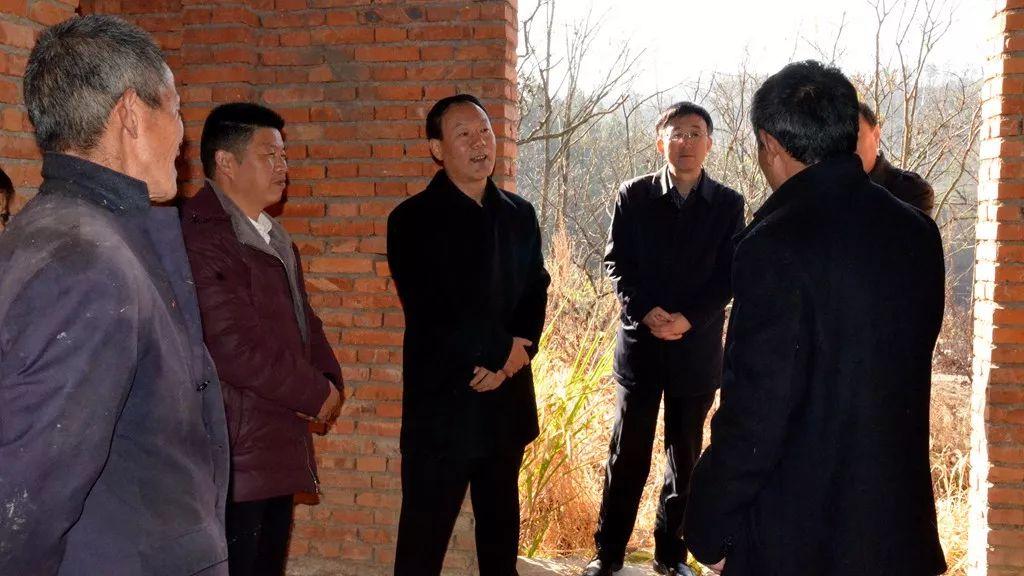 市长叶露中到金寨县暗访调研